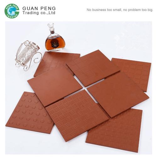 Non Slip Outdoor Terracotta Ceramic Floor Tile 300x300