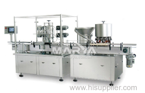 Automatic Syrup filling and capping production line