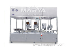 Screw powder filling and capping production line