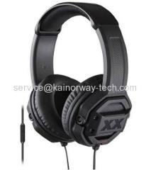 JVC HA-MR60X XX Over Ear Headband Headset With Mic And Remote Black For iPhone