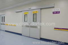 double open automatic sliding doors for clean rooms