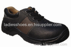 fashion round toe safety man lace shoes