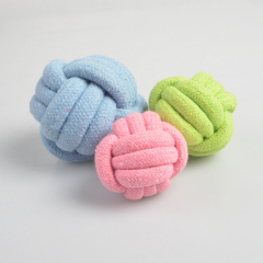 Colored Cotton Rope Braid Ball