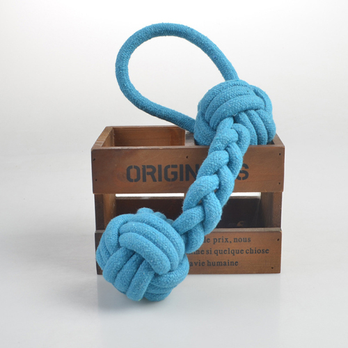 Double Ball Rope Toy