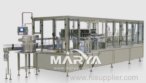 Pharmaceutical Plastic Bottle I.V.infusion Washing Filling and Sealing Machine