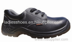 Men fashion lace up round toe safety shoes