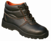PU leather safety work men shoes