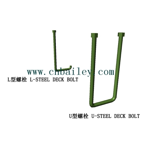 U-Steel Deck Bolt & L-Steel Deck Bolt