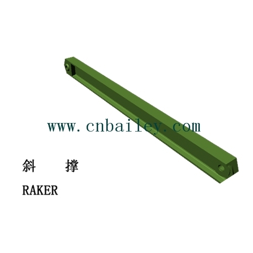 Bailey Steel bridge Raker