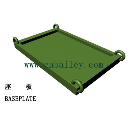 Bailey Steel bridge Baseplate