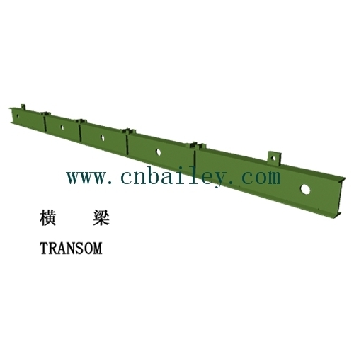 steel structure pedestrian bridge transom
