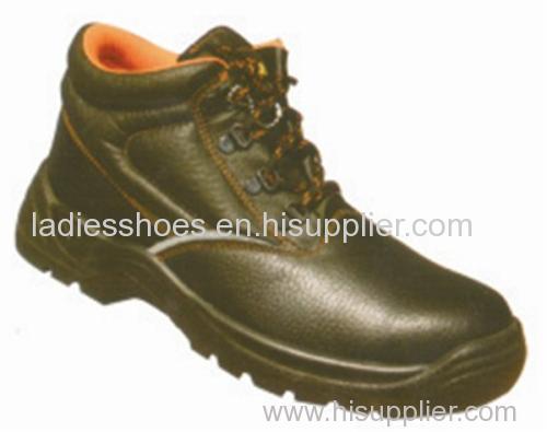 fashional customed flat round toe lace up work men shoe