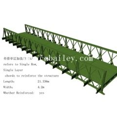 Single Row Single Layer Reinforced