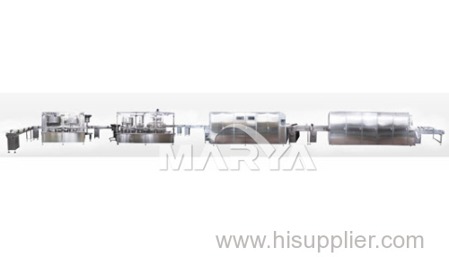 High Speed Glass Bottle I.V. Infusion Solution Production Line