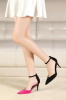 Fashion High Heel Foldable Heel Ladies Shoes