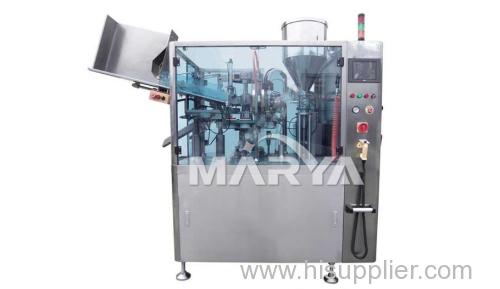 Pharmaceutical automatic plastic tubes laminated tubes and metal tubes filling machine