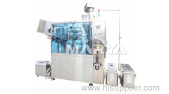 Automatic aluminium tubes and metal tubes filling machine