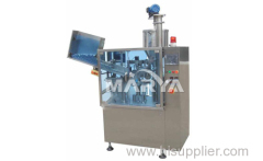 Tube filler for plastic and laminated tubes