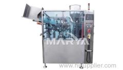 Inner-heating type tube filling machine