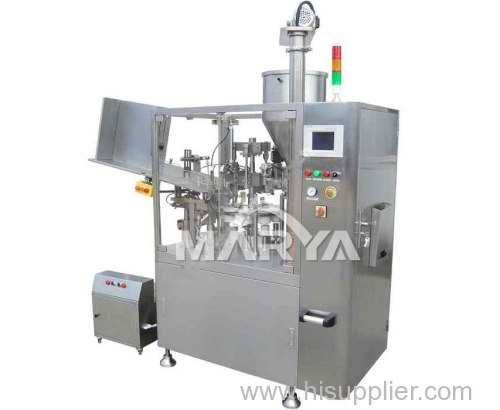 Automatic plastic and Alu tubes filling machine