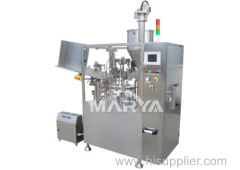 Automatic tube filling equipment