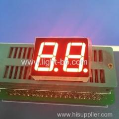 двойной цифры 0,56 дюйма с общим катодом ультра яркий красный 7 -сегментный светодиодный дисплей
