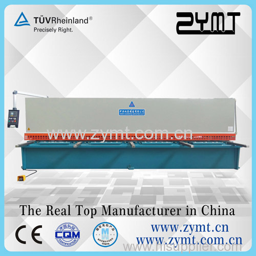 ZYMT guillotine steel cutting machine