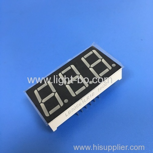 Triple-Digit 7-Segment LED Display common anode 0.56  super bright red for instrument panel.