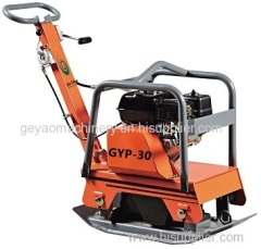 Hydraulic reversible plate soil compactor with honda gx160 engine