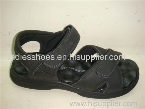 men beach sport sandals wholesale leather sport sandal