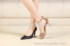 New Design Foldable Heels Women Shoes