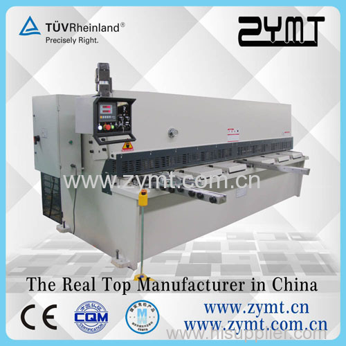 ZYMT hydraulic shearing machine and machine shearing