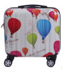 avorable price pc four wheels butterfly trolley luggage/butterfly cheap scooter suitcase/butterfly trolley luggage bag