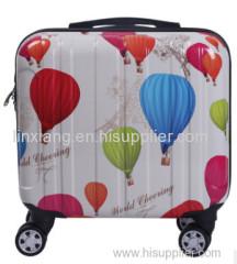 avorable prijs pc vier wielen vlinder trolley bagage / vlinder goedkope scooter koffer / butterfly trolley bagage tas
