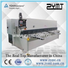 ZYMT Hydraulic guillotion shearing machine