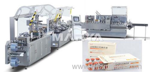 Automatic Vial Blister packing and Cartoning packaging line