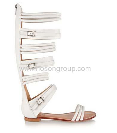 Gladitor open toe flat sandals