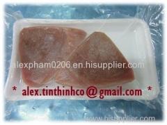 frozen tuna steak portion / tuna breaded fish