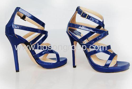 New fashion buckle stiletto heel sandals