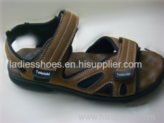 OEM Design hook loop men beach sandals