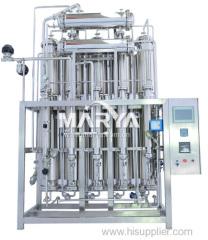 Multi effect water distiller