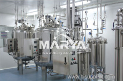 Industrial pharmaceutical preparation vessel