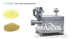 Wet Granulating Machine for pharmaceutical and food industries