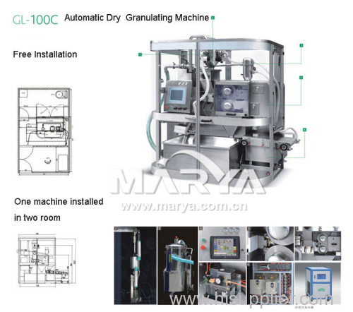 Pharmaceutical Automatic Dry Granulating Machine