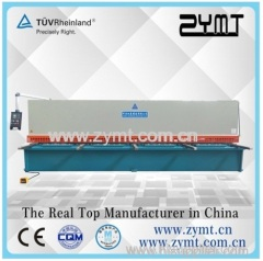 ZYMT 12K/10X2500 Hydraulic swing beam shearing machine