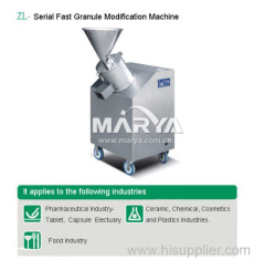 Pharmaceutical Granule Modification Machine