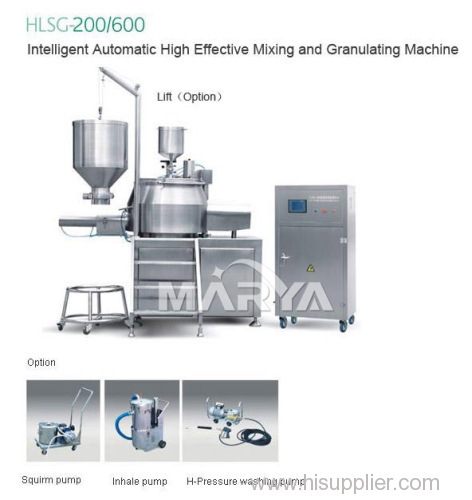 Intelligent Automatic High Effective Mixing and Granulating Machine