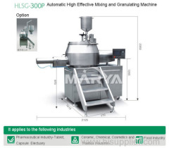 High Effective Mixing and Granulating Machine
