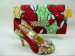 New Design Style Ladies Shoes with matching purse