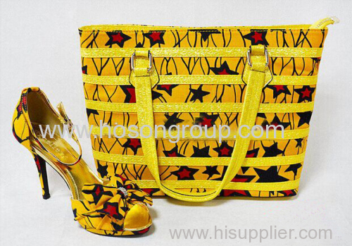 New Style High Heel Women Shoes with matching bags
